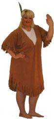 Indian Squaw Costume Plus Size